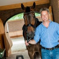 Rob_Krabbenborg met paard