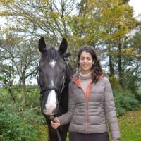 Nicole slijkerman met paard
